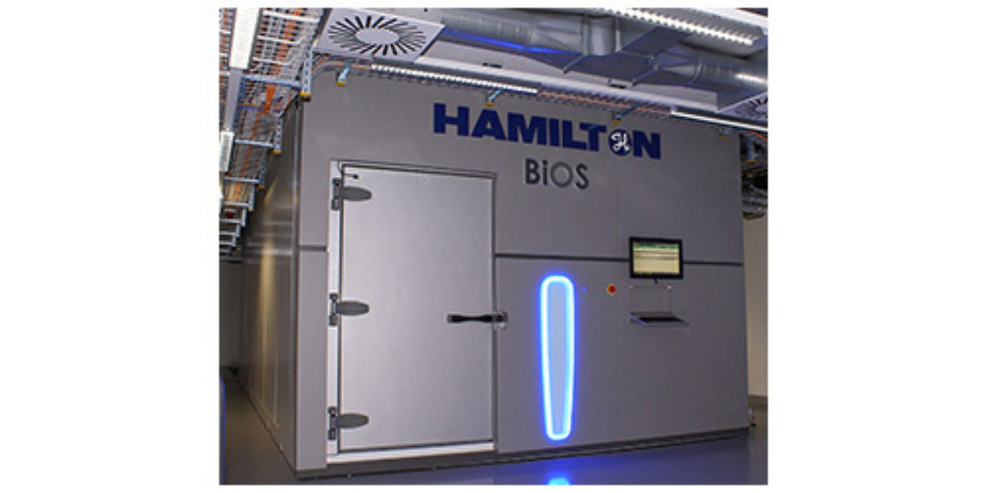 Hamilton BiOS® Automated Sample Storage System to be Installed at
